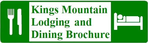Kings Mountain Lodging and Dining